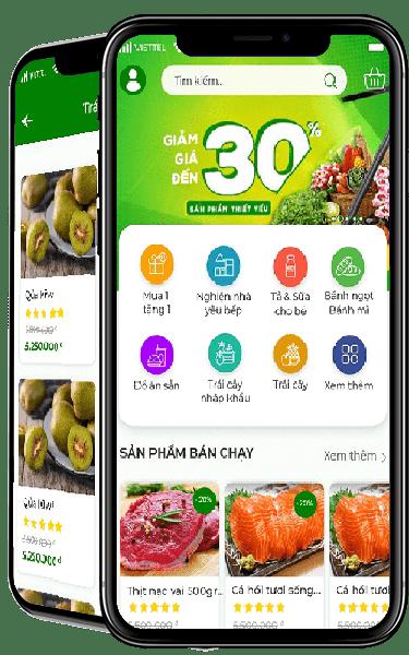 App bán hàng Market's Home