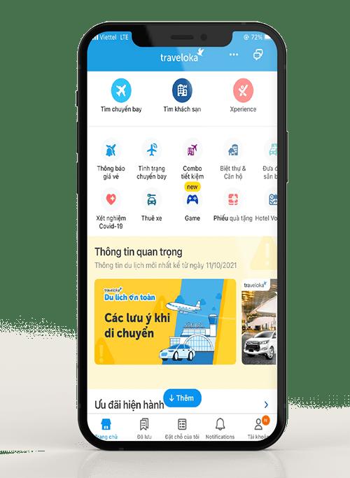 Traveloka - App Đặt Vé Máy Bay Và Phòng Khách Sạn Toàn Cầu