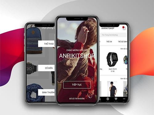 App Bán Hàng Thời trang