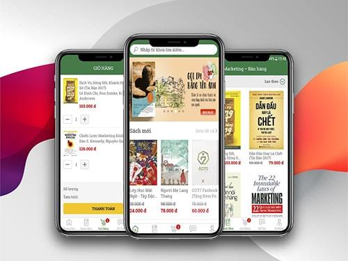 Thiết Kế App Nhà Sách