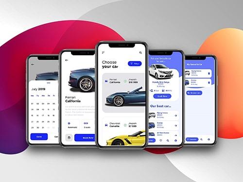 App đặt xe, quản lý đội xe
