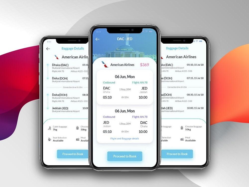 App Doanh Nghiệp Đặt Vé Máy Bay
