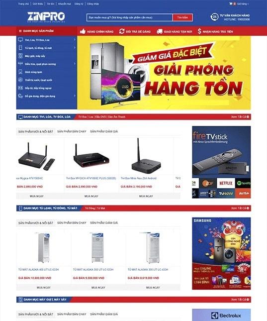 Thiết Kế Website Nhà Sách