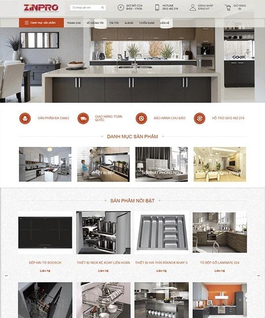 Thiết Kế Website Công Ty Chuyển Nhà
