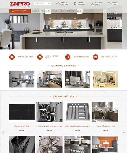 Thiết Kế Website Quán Cafe